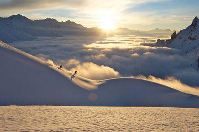 Skifahren in Lech