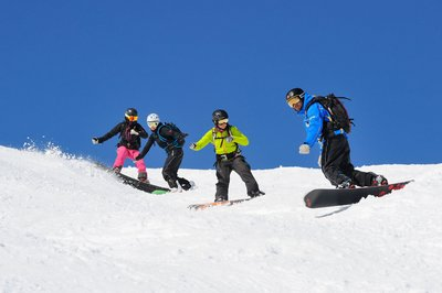 Snowboardkurs in Lech